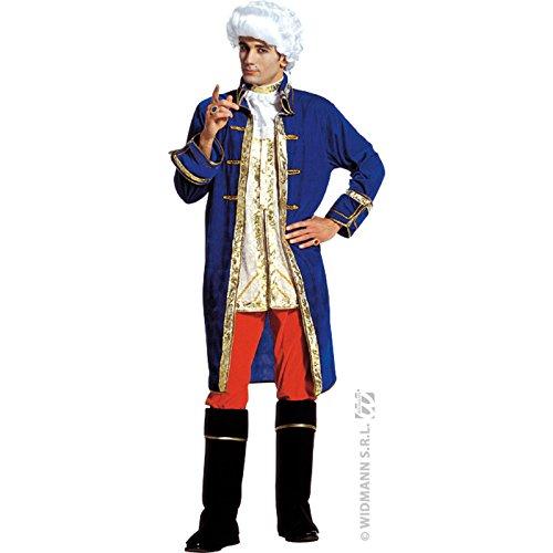 Widmann costume casanova per adulti, multicolore, l, 37763