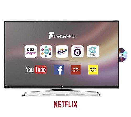 JVC Smart LED TV 43 inch DVD Combi