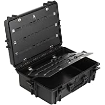 Max MAX505PU IP67 resistente al agua nominal de tapas rígidas para fotografía equipo estanca resistente de transporte Transit plástico funda/de poliuretano de al cubo de espuma/caja de transporte para iMac caja de herramientas