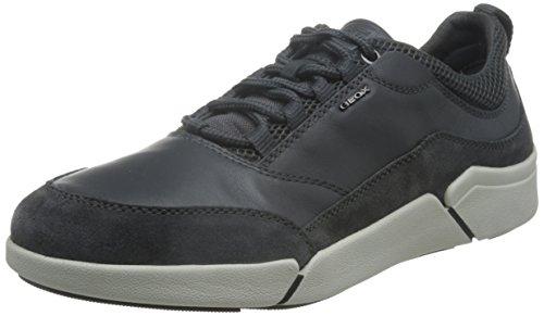Geox Herren U Ailand A Sneakers, Grau (DK GREYC9002), 45 EU