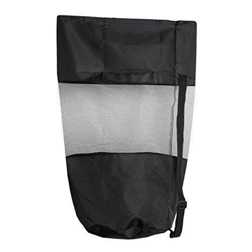 Baoblaze Netzbeutel 70 x 45 cm Netztasche Mesh Bag Sack Packbeutel Packtasche Organizertasche Sportsack für Reisen Tauchen Schwimmen Camping