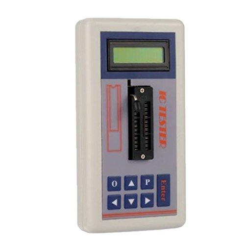 MagiDeal Multifunktionale Transistor Tester Integrierte Schaltung Ic Tester Meter Wartung Tester Digital led Tester MOS PNP NPN Detektor 3.3V / 5.0V / Auto Suchmodus