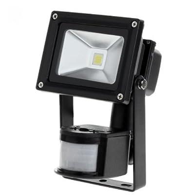 Kemot LED Flutlichtstrahler mit Bewegungsmelder 10W,80lm von KEMOT