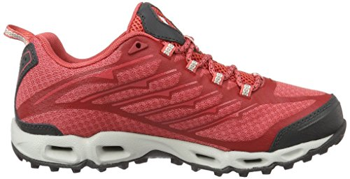 Columbia Ventrailia Ii Outdry, Scarpe Sportive Outdoor Donna Rosso (Sunset Red/ White)