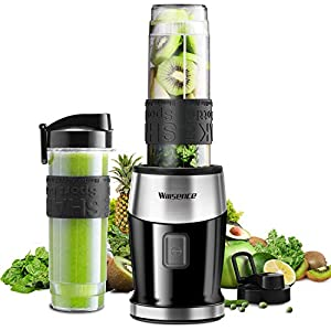 Smoothie Mixer, UPGRADED Willsence 700W Standmixer Smoothie Maker, Single...