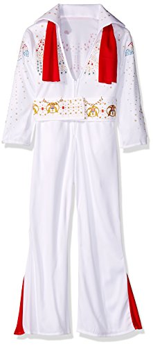 Rubies Deluxe Elvis Child Costume, Large, One Color by - Deluxe Kinder Elvis Kostüm