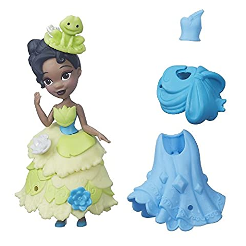 Disney Princess Little Kingdom Fashion Change Tiana Doll