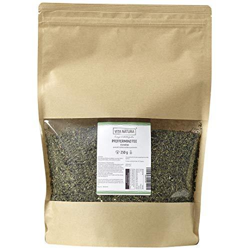 Vita Natura Pfefferminz-Tee, loser Arzneitee, Bio, 1er Pack (1 x 250 g)