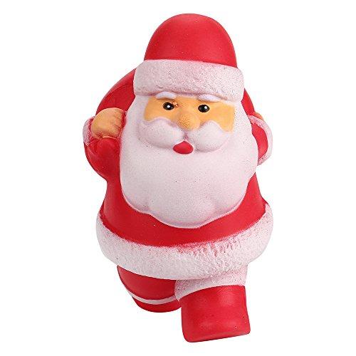 Squishys Grandes kawais,Suave Juguetes de Navidad Squishies Squeeze Toy Slow Rising Decompression Stress Relief Juguete Regalo para niños y Adultos,de Gusspower