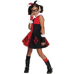 Disfraz de Harley Quinn tutú para niña - 5-7 años