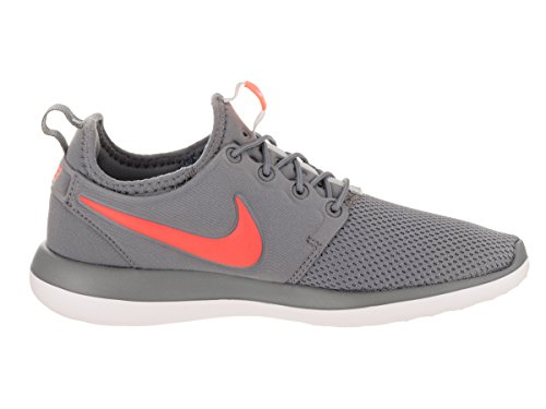 Nike Roshe Two (gs) bambini Sneaker Grau (Cool Grey/Lava Glow/Pure Platinum/White)