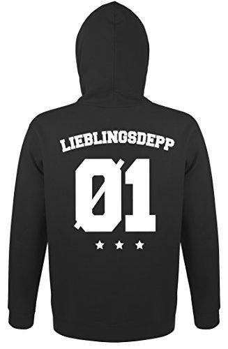 *SE-creation Herren Partner Pullover Lieblingsdepp + Wunschzahl*