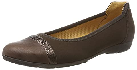 Gabor Shoes Gabor Casual, Ballerines Femme, Marron (48 Mocca/Moro), 38 EU