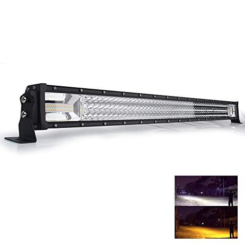 LED Arbeitsscheinwerfer bar 42 Zoll led bar Offroad 540W Amber White 3000K 6500K Flash Triple Row 106.7 cm led balken CREE Chip 12V 24V, 9631RQ-42inch