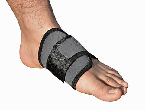 Die verstellbare Fußgewölbeunterstützung (Doppel Packung) – Die einfache Lösung Schmerzen von gesenkten Fußsohlen und Plattfüßen zu nehmen.
