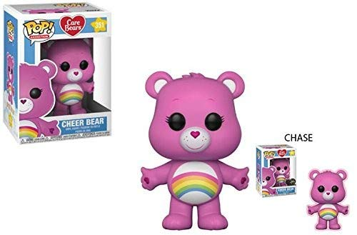 Funko 26698 Care Bears- Cheer Bear with Chase POP Vinylfigur, Multi, Standard