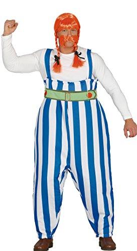 Obelix Kostüm - Guirca-Kostüm Erwachsene Oberkörper, Größe