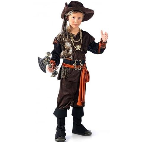 Costume de pirate aventurier 6 pièces - Pour enfant, petit garçon - 11/13 Jahre