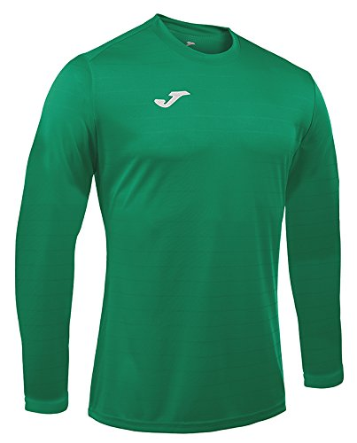 Joma Campus II Camiseta de Juego Manga Larga, Hombre, Verde, S