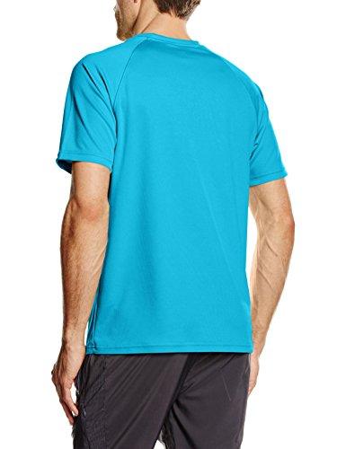 Fruit of the Loom Herren T-Shirt Performance Blau - Blue (Azure Blue)