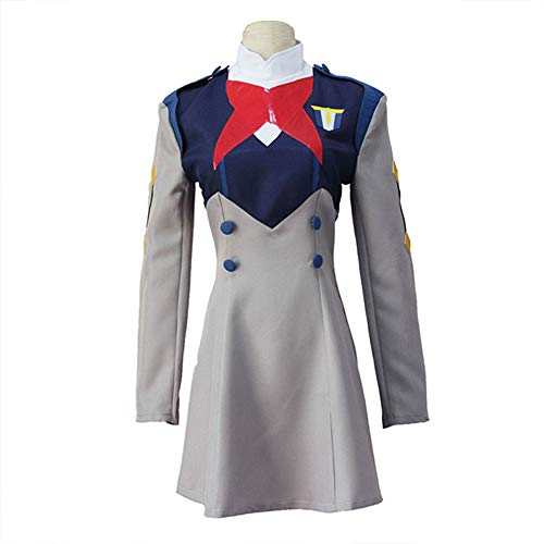Kostüm Hase Kinder Peter - DXYQT Anime Cosplay Kostüm Kleid Kurzen Rock Halloween Kostüm Thema Party Performance Kostüm Spiel Uniform Student Bühnenkostüm,Grey-XL