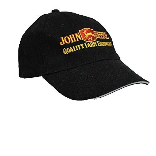 Preisvergleich Produktbild Baseballcap mit Einstickung - Trekker Traktor John Deere - 69021 schwarz