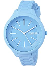 Rip Curl Women's Quartz Plastic and Silicone Sport Watch, Color:Blue (Model: A2803GBAB1SZ)