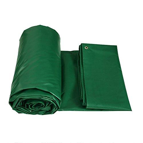 XUEYAN Anti-Aging Heavy Duty Plane Trap Bodendecke Abdeckungen Schuppen Tuch LKW Rainproof verdicken Wasserdichte Isolierung Canvas Zelt Splice Markise Sun Shade-Green, 450G / M² (größe : 2 * 3m)