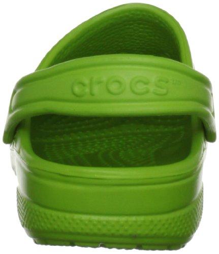 Crocs Baya Kids, Sabots Mixte Enfant Vert (Volt Green)