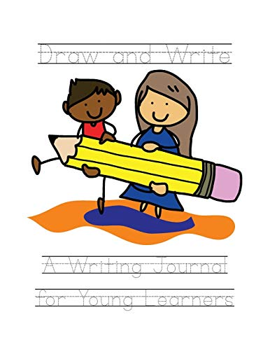 Draw and Write: Writing Journal for Young Learners (English Prompts)