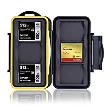 Ares Foto® MC-CF6 Memory Card Case / Card Safe / for 6 pcs CF Cards - New Edition 2017 for 6 Compact Flash Cards