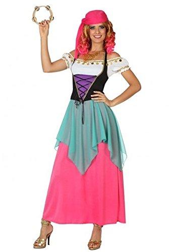 Disfraz de Zingara Rosa - Mujer, M