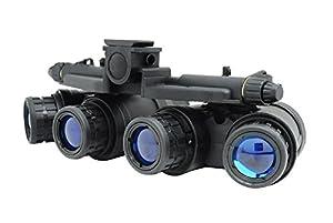 Airsoft Dummy Quad Lunettes de vision nocturne Noir Gpnvg 18
