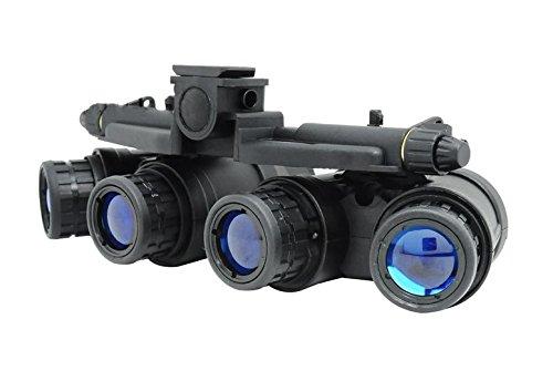 AIRSOFT DUMMY QUAD NIGHT VISION GOGGLES BLACK GPNVG 18