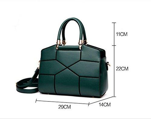 Art Und Weiseatmosphäre Einfache Temperamentfreizeit Wilde Elegante Handtaschen-Schulterbeutel Kurier-Beutelhandtasche Beige