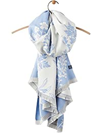 Joules Womens/Ladies Jacquelyn Reversible Jacquard Pattern Scarf
