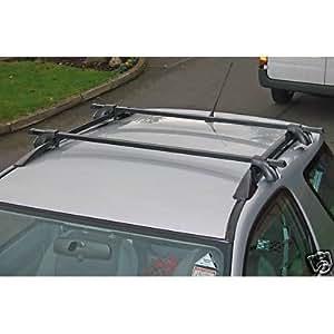 Maypole Lockable Roof Rack Bars For Vauxhall Meriva With