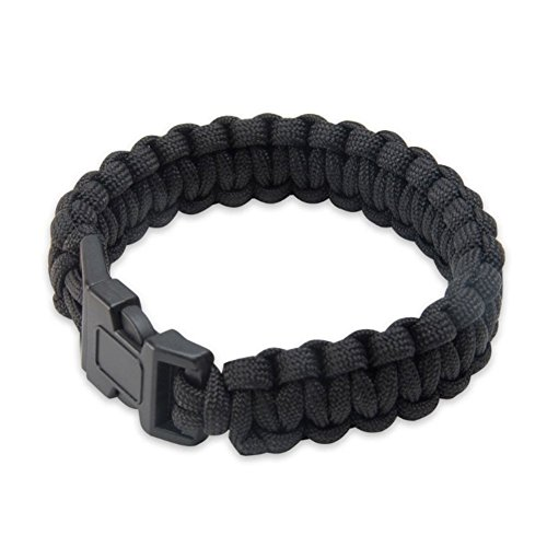 United Cutlery UC2763 Elite Forces Survival Bracelet, Black