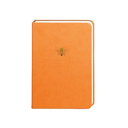 Portico Designs - Sky + Miller - A5 Orange Bee Notebook