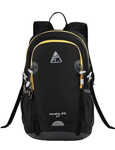 Randonnée pack/Etui pour portable/Sac de Randonnée/Cyclisme à dos/Voyage Duffel/Organisateur Voyage ( Noir/Orange/Fuchsia , 25L L)