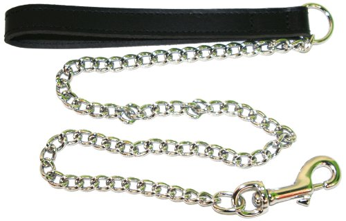 bbd-36-inch-heavy-leather-chain-lead-black