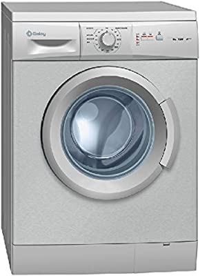 Balay 3TS863XA Independiente Carga frontal 6kg 1000RPM A+++ Gris, Acero inoxidable - Lavadora (Independiente, Carga frontal, A+++, D, Gris, Acero inoxidable, Izquierda)