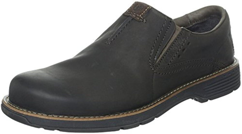 Merrell Men's Realm Moc Slip-On Shoe, Chocolate, 50 D(M) EU/14 D(M) UK