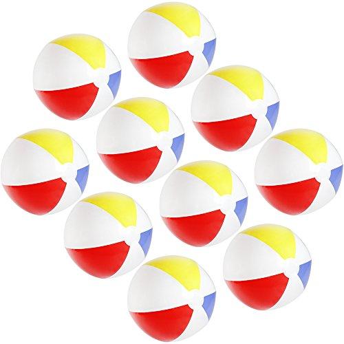 Großhandel & Sonderposten Spielball Spielbälle Fußball 4 Farben 23 cm Ball Wasserball Strandball Spielzeug & Modellbau (Posten)