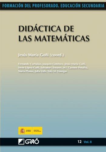 Didáctica de las Matemáticas: 122 (Formacion Profesorado-E.Secun.)