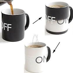 Créatif Mug/Tasse/Couleur Change à La Chaleur Magique/ON-OFF