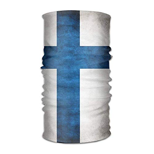 VTXWL Finland Flag Distressed Multifunctional Magic Headwear 12-in-1 Men&Women Tube Scarf Facemask Headbands Neck Gaiter Bandana Balaclava Helmet For Outdoor Running Yoga Work Out - Distressed Hobo