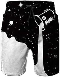 dccf962ce9ef NEWISTAR Herren Shorts 3D Druck Kurze Hose Badehose Freizeithose  Jogginghose Sporthose Trainingshose Jogger Sweatpants S-