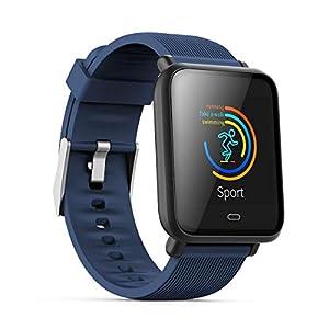 Monitor de frecuencia cardíaca TEEPAO, reloj inteligente a prueba de agua