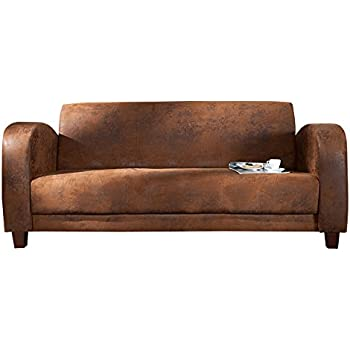 Lounge sofa  Eleganter 3-Sitzer HAVANNA LOUNGE braun Lounge Sofa: Amazon.de ...
